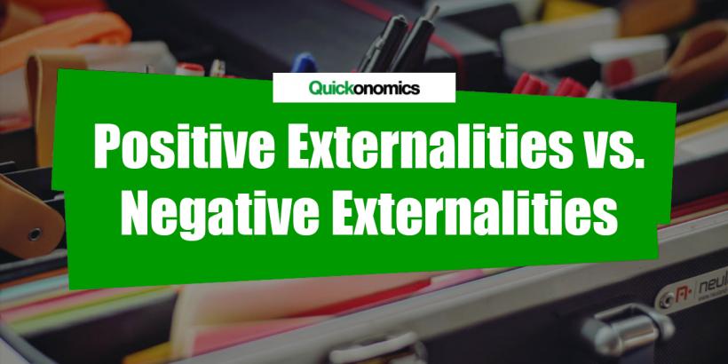 positive negative externalities