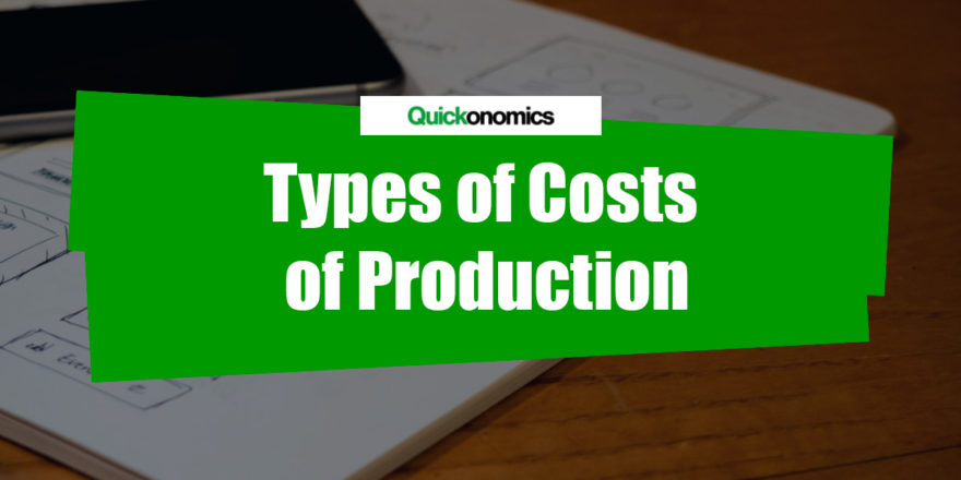 Types of Costs of Production