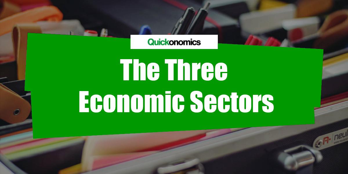 the three economic sectors