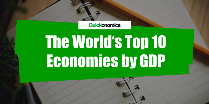 The world's top 10 Economies by GDP