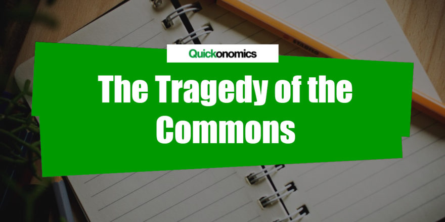 What is the tragedy of the commons