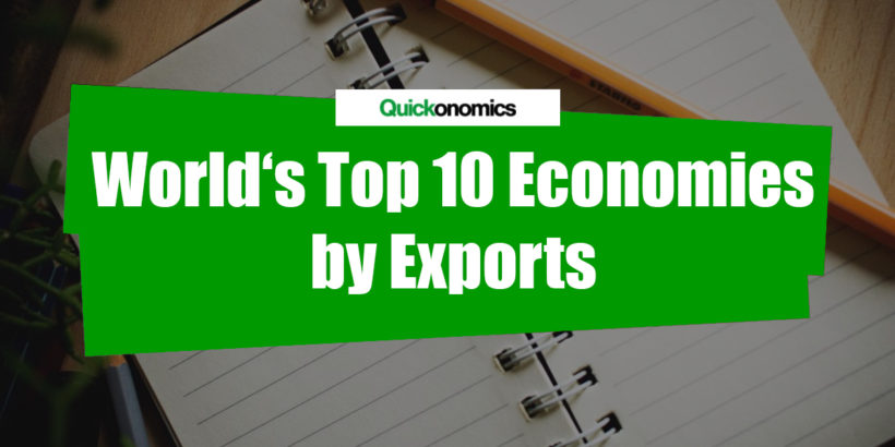 World's top 10 Economies by Exports