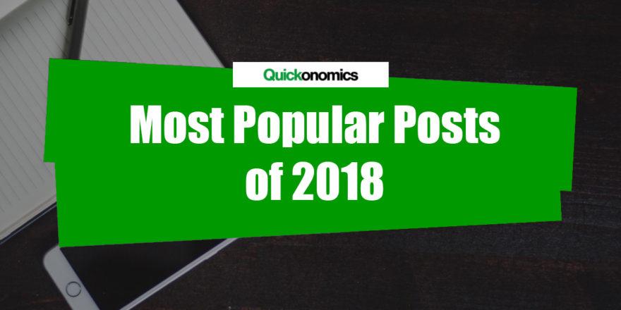 Most Popular Posts of 2018