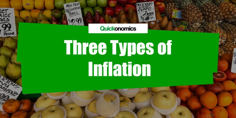 Three Types of Inflation
