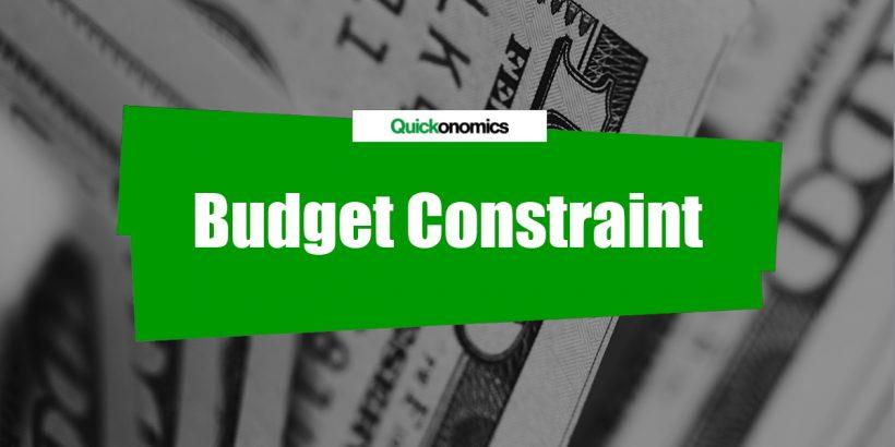 Budget Constraint