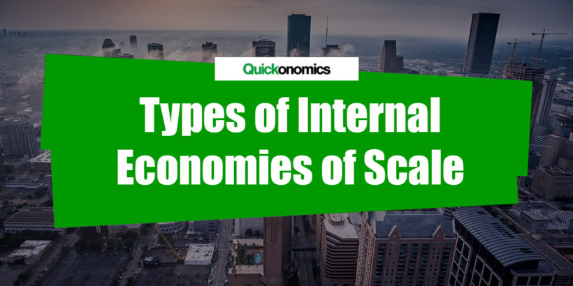 Types of Internal Economies of Scale