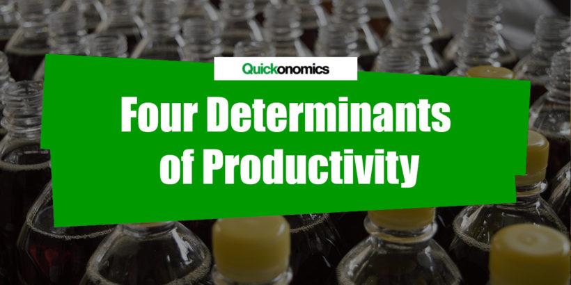 Four Determinants of Productivity