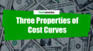 Three Properties of Cost Curves
